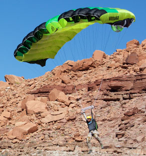 HAYDUKE BASE Canopy & Parachutes for Skying and BASE jumping | Squirrel