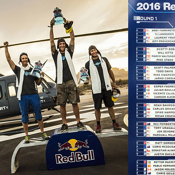Squirrel Pilots Sweep 2016 Red Bull ACES
