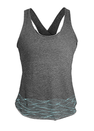 Women's Flow Tank: Waves