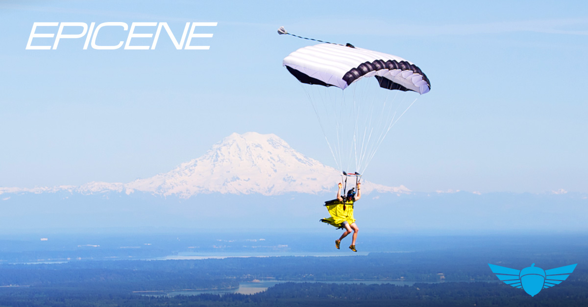 EPICENE Skying Canopy & Parachutes for Skying and BASE jumping | Squirrel