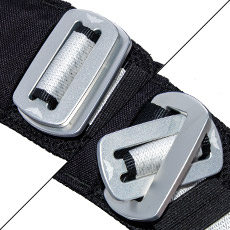 CRUX BASE Container Custom Plate Buckles