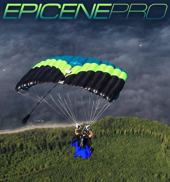 b9d2d20a10f2 Wingsuit skydiving parachute  Epicene Pro