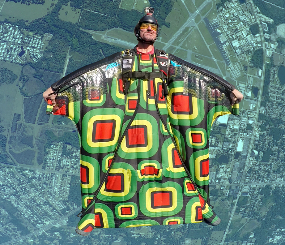 SuperCustom Printed Wingsuits & Containers